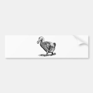 Dodo Bird Bumper Sticker