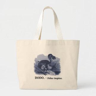 Dodo Bird (Didus ineptus) Jumbo Tote Bag