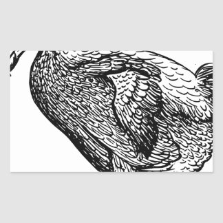 Dodo Bird Rectangular Sticker