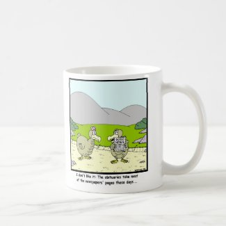 Dodo News: Dodo cartoon Coffee Mug
