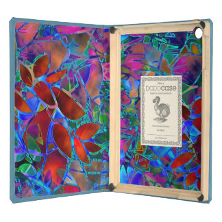 Dodocase iPad Air Floral Abstract Stained Glass Cover For iPad Air