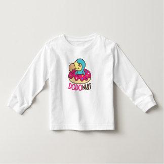 Dodonut (doughnut and dodo bird) toddler T-Shirt
