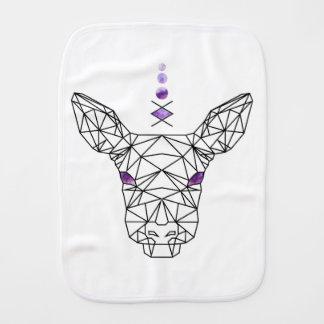 Doe! A deer Burp Cloth