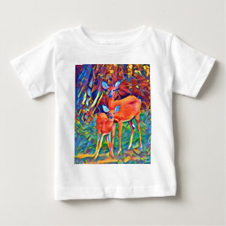 Doe and Fawn Baby T-Shirt