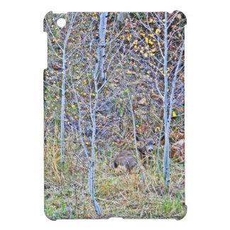 Doe deer and fawns iPad mini covers