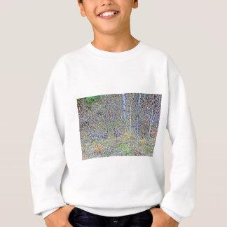Doe deer and fawns sweatshirt