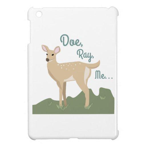 Doe, Ray, Me iPad Mini Cover