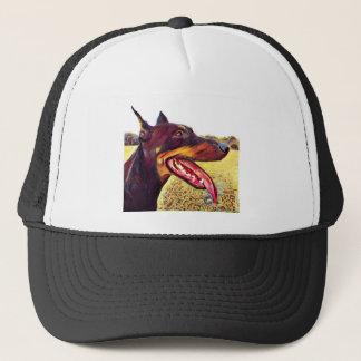 Doerman Swirl Paint 3 Trucker Hat