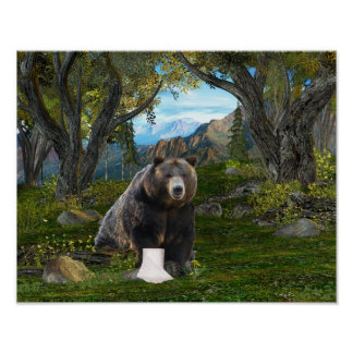 Does a bear posters
