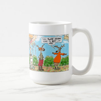 Does Blaze Orange Make My Butt Look Big? Coffee Mug