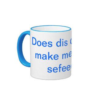 Does dis dress make me look sefeed? ringer mug