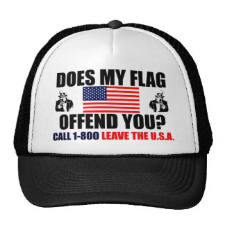 Does My Flag Offend You? Cap