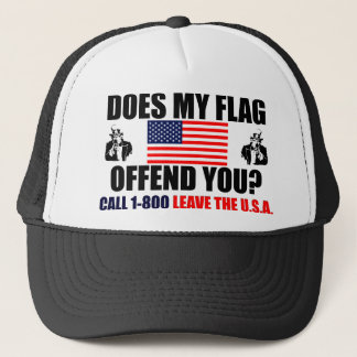 Does My Flag Offend You? Trucker Hat