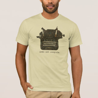 Does Not Compute Men's Basic T-Shirt