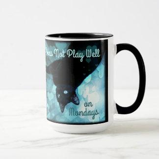 Does Not Play Well On Mondays! I hate Mondays! Mug