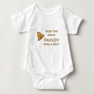 Does the Name Pavlov Ring a Bell? Baby Bodysuit