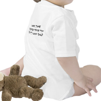 Does this diaper make my butt look big? t shirt