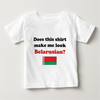 Does This Shirt Make Me Look Belarusian?