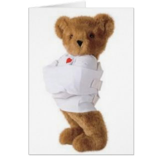 Does this Straightjacket make me look fat? Card