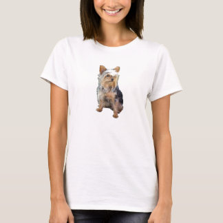 Dog 4 A,Ladies Baby Doll (Fitted) T-Shirt