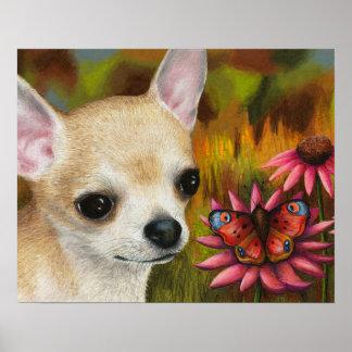 Dog 85 Chihuahua Poster