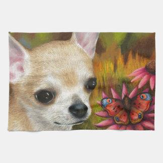 Dog 85 Chihuahua Tea Towel