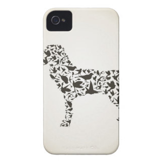 Dog a bird iPhone 4 cover