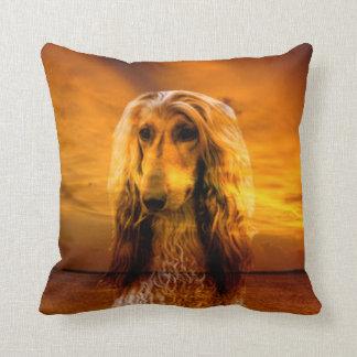 Dog Afghan Hound Cushion