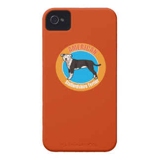 Dog American staffordshire terrier Case-Mate Blackberry Case