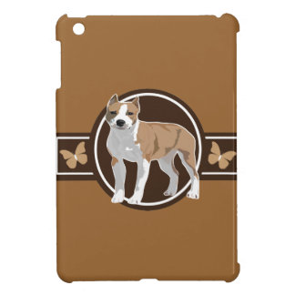Dog American staffordshire terrier iPad Mini Cases