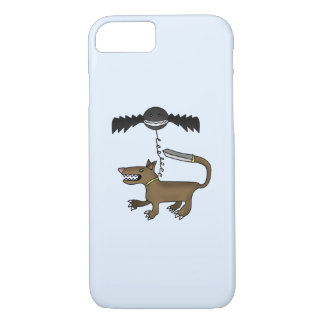 Dog and Bat Monster iPhone 7 Case