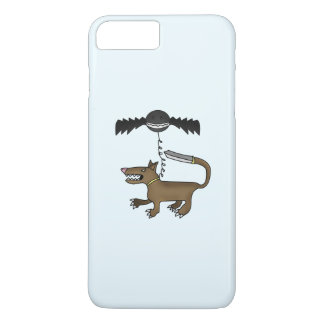 Dog and Bat Monster iPhone 7 Plus Case