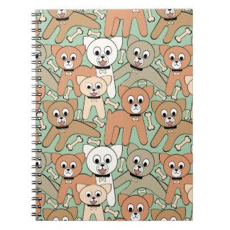 Dog and bone notebooks