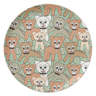 Dog and bone plate