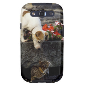 Dog and cat galaxy s3 cases