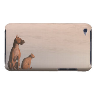 Dog and cat friendship barely there iPod case