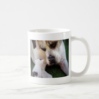 Dog and cat image coffee mug