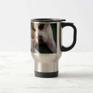 Dog and cat image coffee mugs