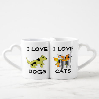 Dog and Cat Lovers' Mugs Lovers Mugs