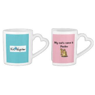 Dog and Cat Pun Mug