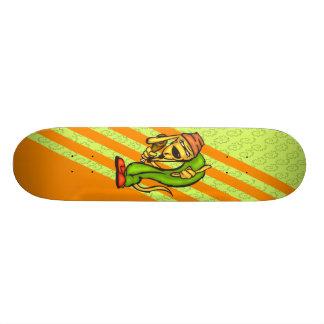 Dog and His Turkey Leg Skateboard Deck