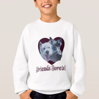 Dog Art:  Friends Forever! Sweatshirt
