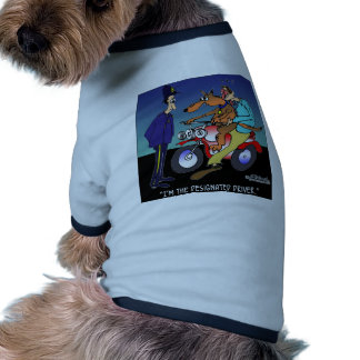 Dog As Designated Driver Pet Tee
