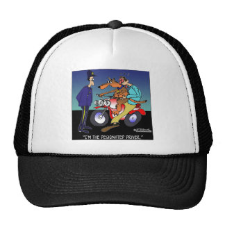 Dog As Designated Driver Hats
