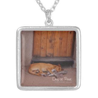 Dog at Rest Custom Jewelry