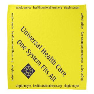 Dog Bandana for universal health care