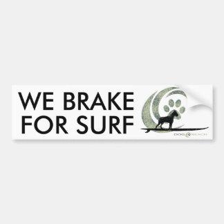 Dog Beach bumper sticker Car Bumper Sticker