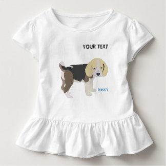 dog beagle enjoys a stroll toddler T-Shirt