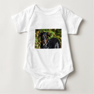 Dog Beauceron Baby Bodysuit