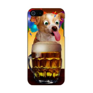 dog beer-funny dog-crazy dog-cute dog-pet dog incipio feather® shine iPhone 5 case